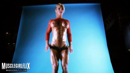 Ginger Martin hot female muscle