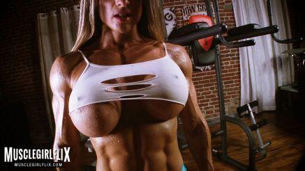 sexy as fuck muscle girl maria garcia