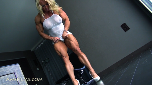 massive quads on fbb Aleesha Young