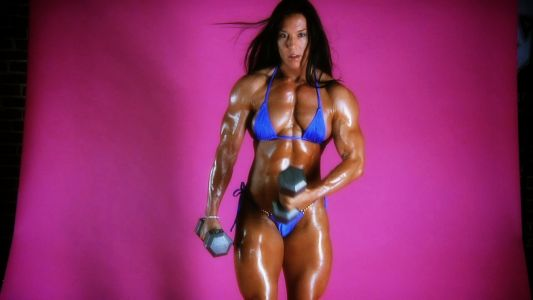 Jennifer Scarpetta and her thick muscular body.