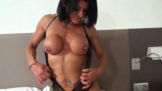 Mistress Dometria hard body topless