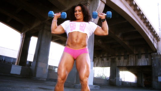 female bodybuilder tonia