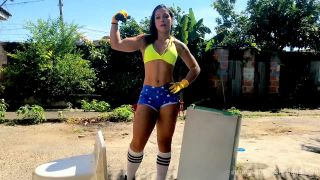 brazilan female bodybuilder glauce strong woman videos