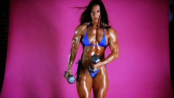 Jennifer Scarpetta and her thick muscular body.