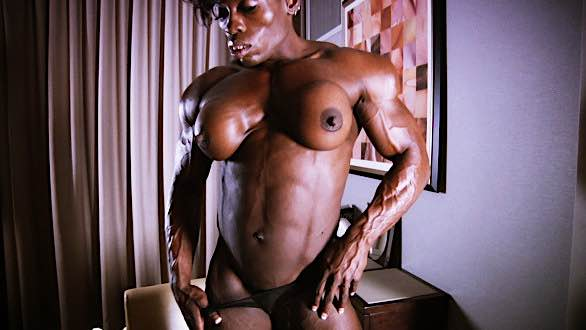 Mistress Treasure huge thick muscle