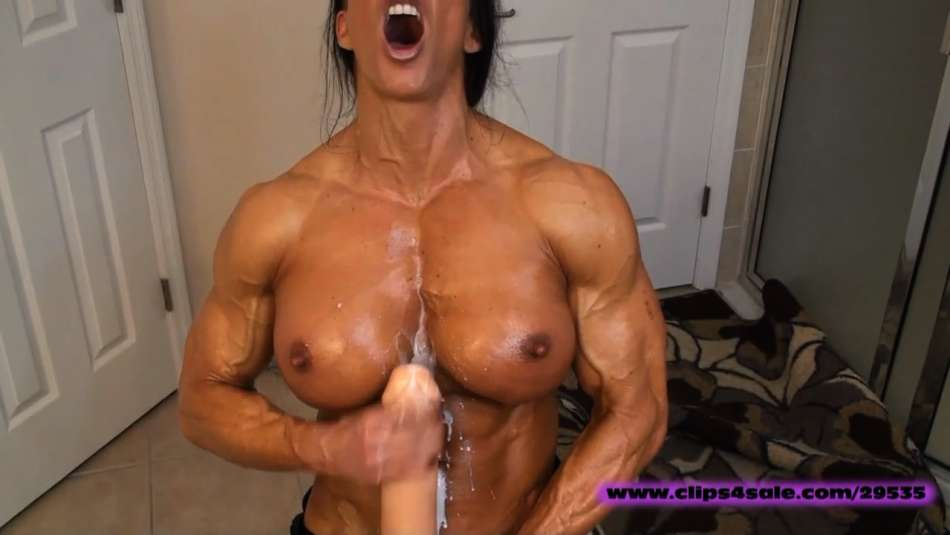 muscle pornstar angela salvagno huge cock futanari video