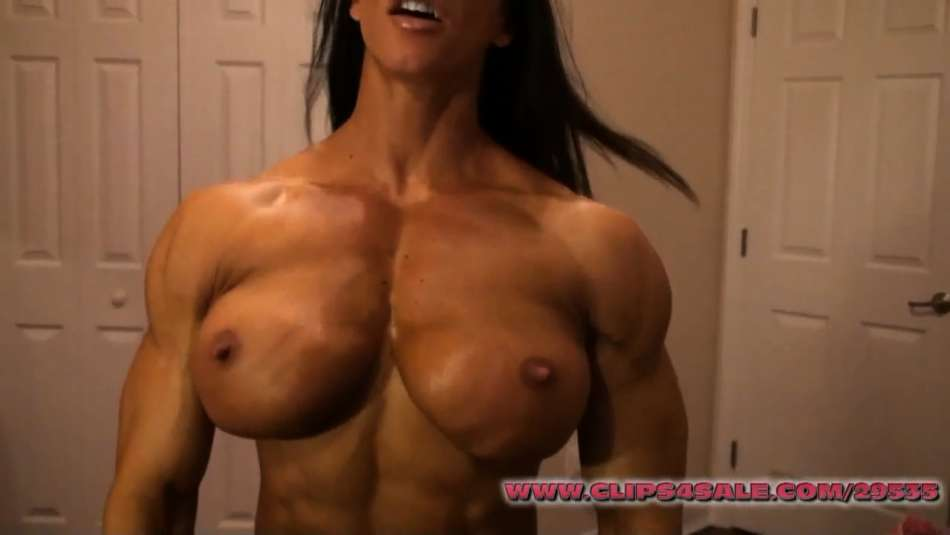 amazing thick pec flex fbb angela salvagno