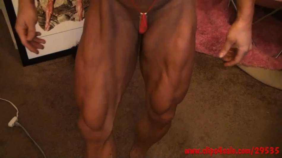 Angela Salvagno crazy hot nude muscle girl