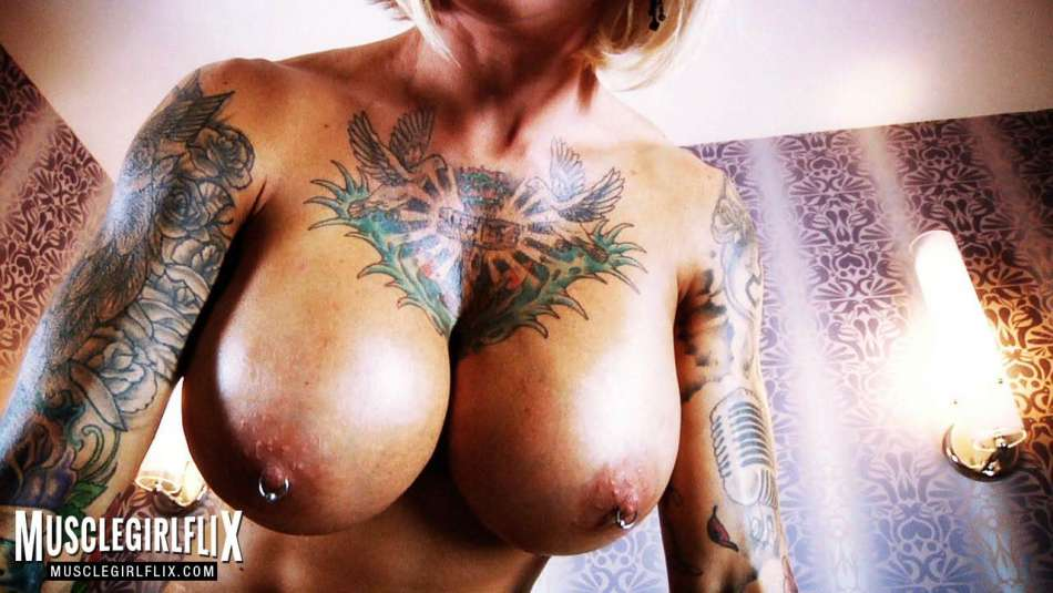 Duchess Dani muscle girl flix huge pierced tits
