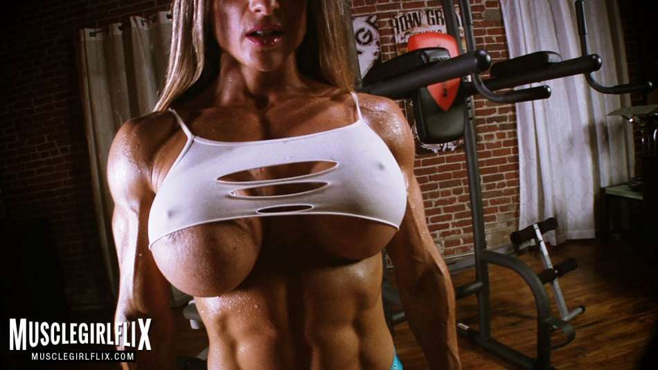 maria garcia ultimate muscle and tits