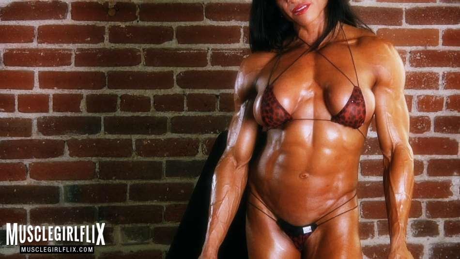 Marina Lopez amazing pecs