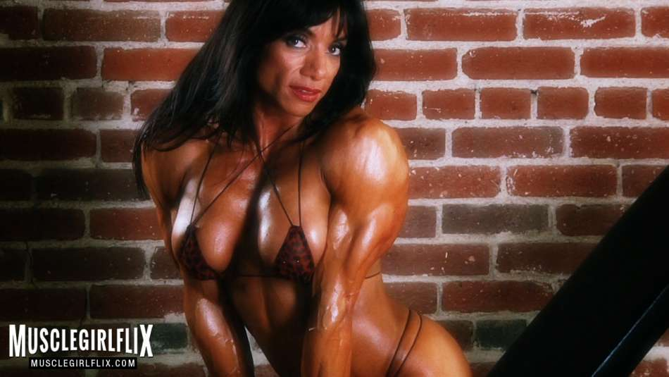 Marina Lopez topless female muscle