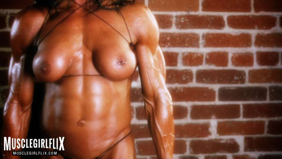 Marina Lopez strong and muscular babe