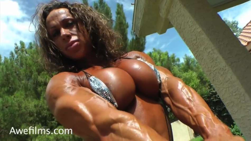 busty fbb pec flex video