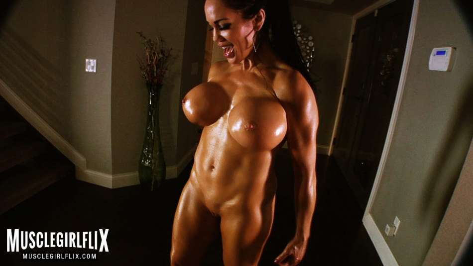 full body ab flex naked fitness model