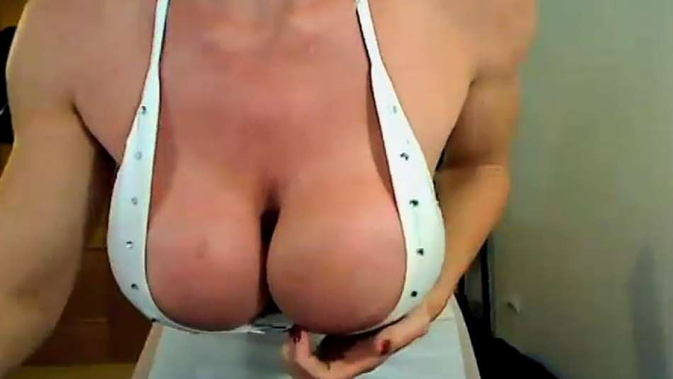 heavy tits of Big Boobs Kris