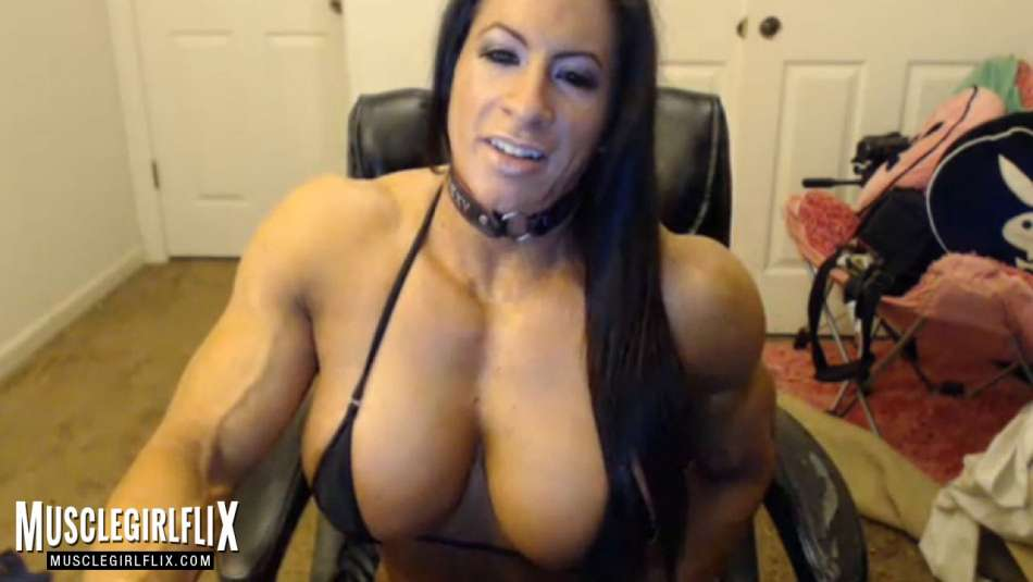 muscle and tits