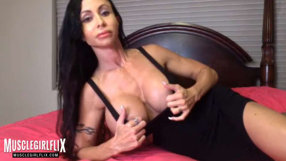 Jewels Jade showing her huge tits on webcam