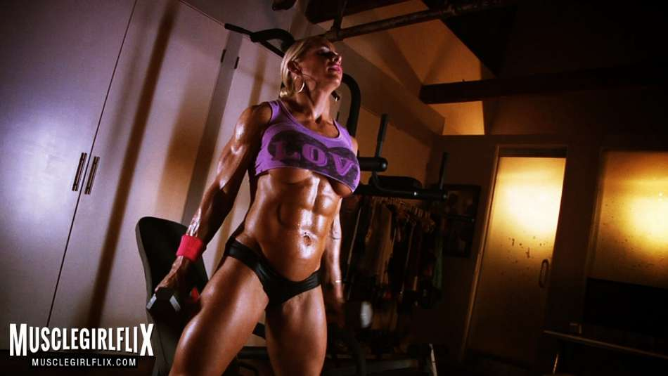 fbb jill jaxen ripped muscle under boobs