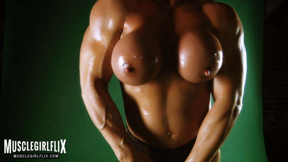 Kathy Conners well sculpted female muscle