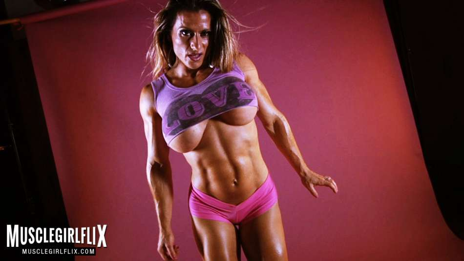 Maria Garcia hard female muscle babe