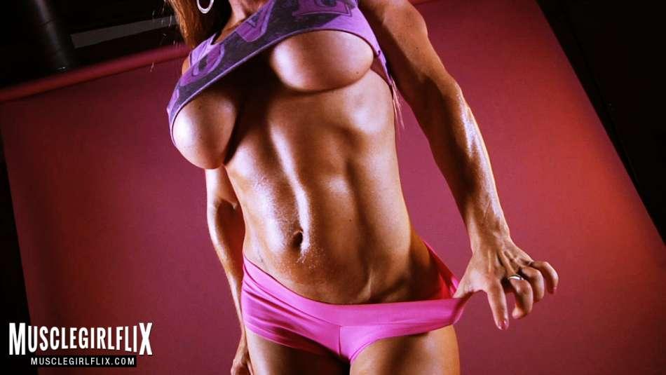 Maria Garcia flat abs