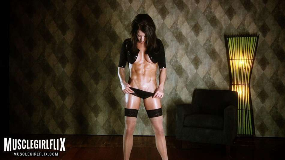 Melyssa Buhl muscle girl flix strip tease