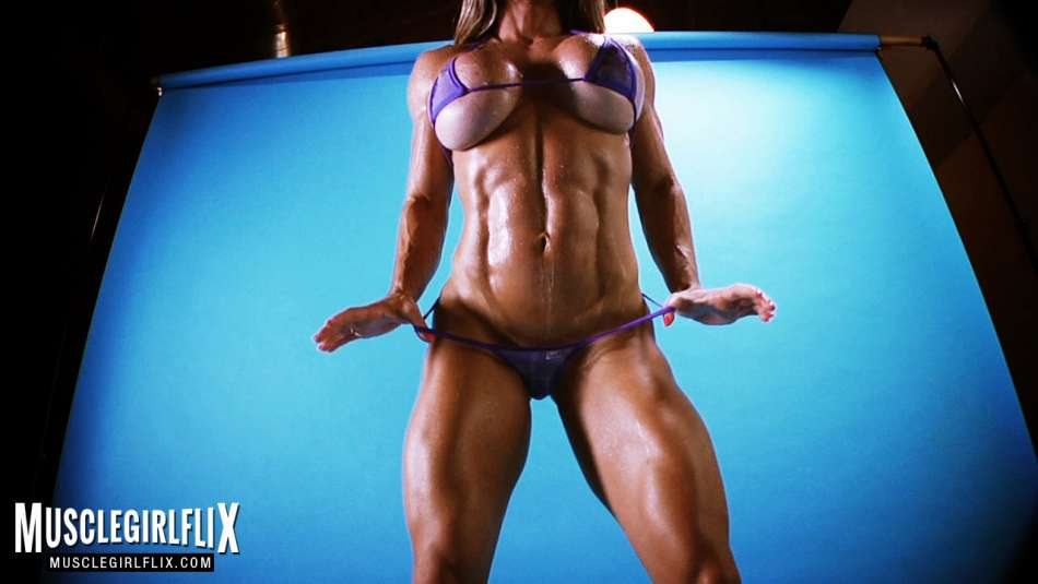 muscle girl maria garica amazing body