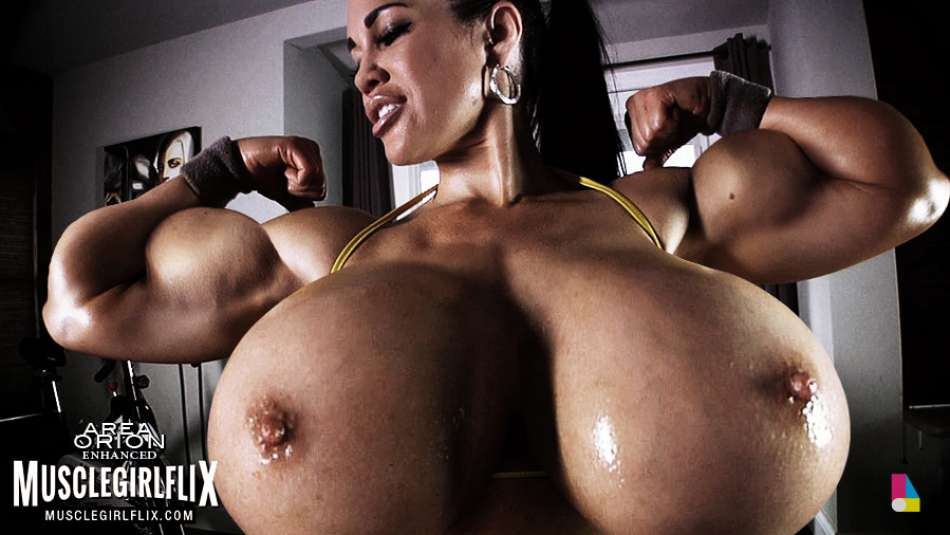 massive huge muscle girl growth fantasy come true
