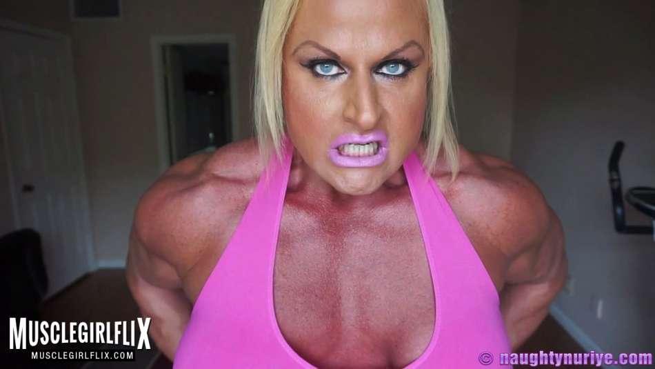 massive she hulk femdom with muscle