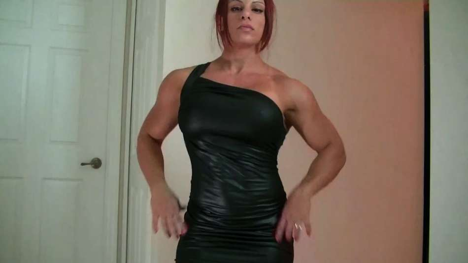 Mz Devious huge arms on a date night