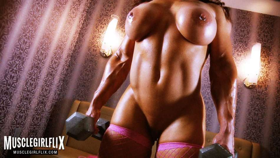 amazing nude female muscle porn