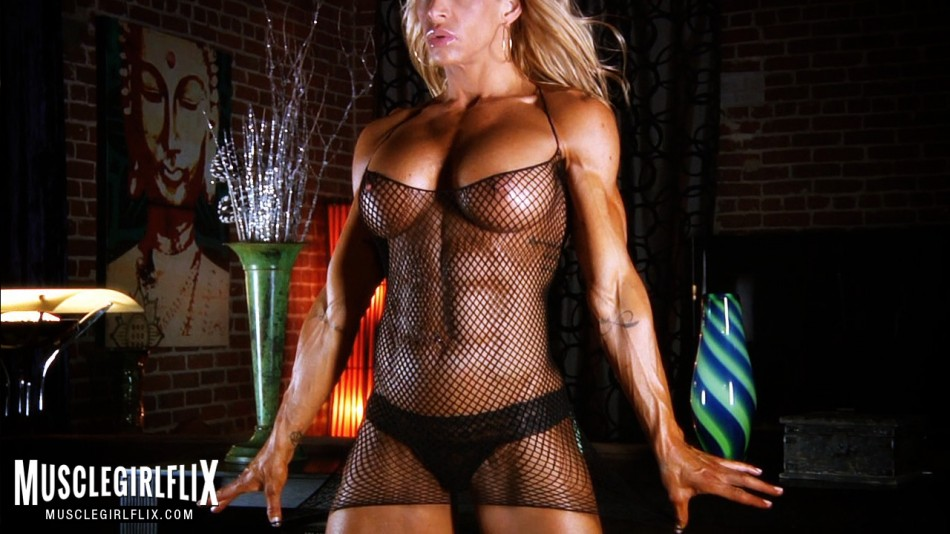 Jill Jaxen see through mesh