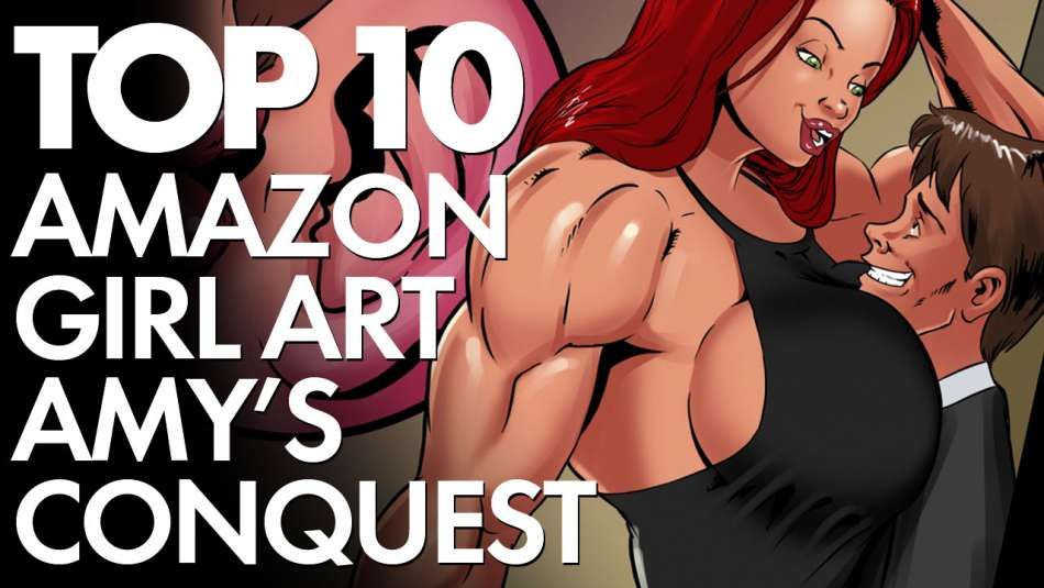 Top 10 amazonian women fantasy art from Amy's Conquest