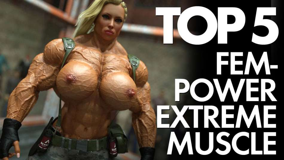 jane rambo extreme 3D muscle girl