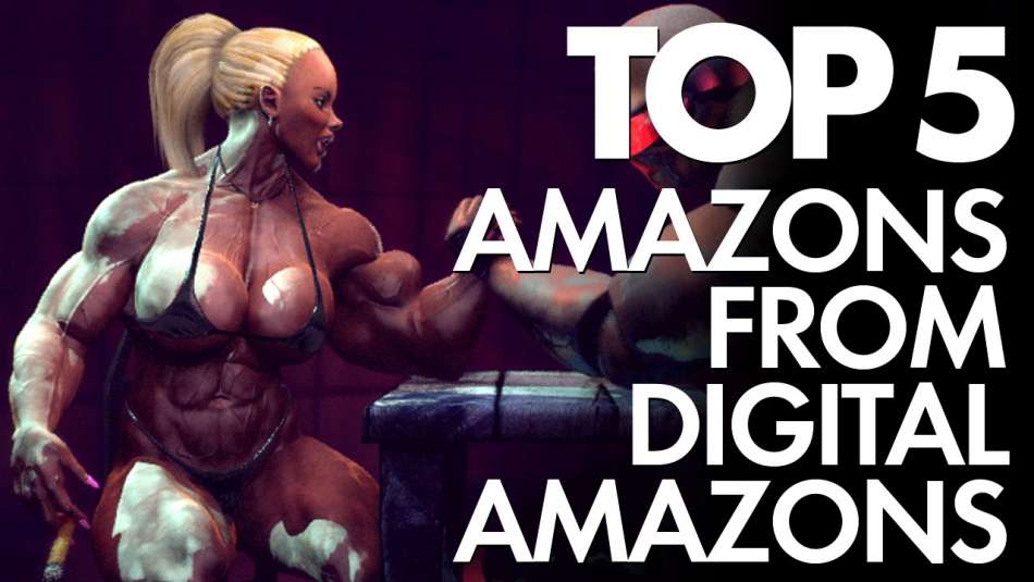 Top 5 best amazon girls from digital amazon studios top image