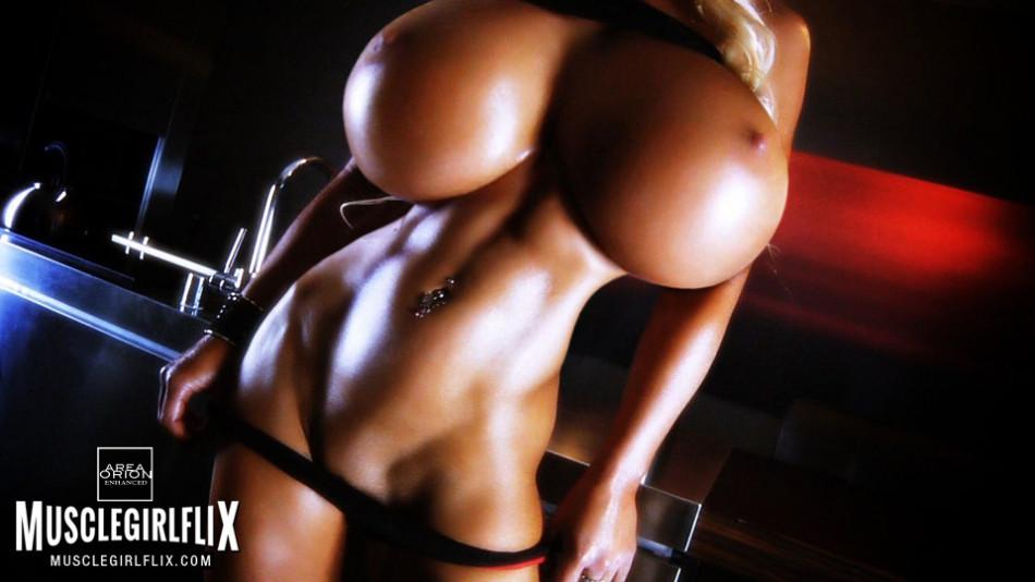 fitness model magen avalon huge tit morph