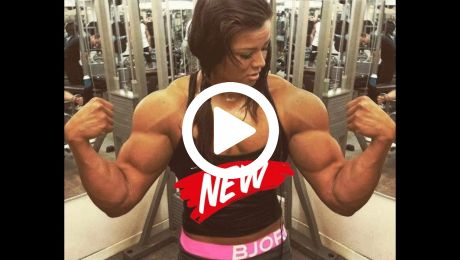 Female Bodybuilder Hot as Fuck Workout