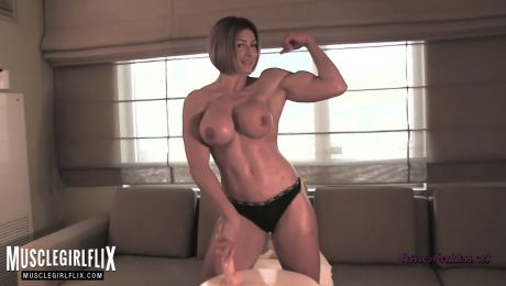 Goddess Rapture Ultimate Female Bodybuilder Porn Star