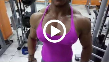 Huge FBB Incredible Thick Muscle