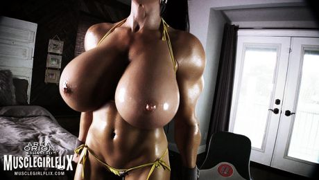 Muscle Girl Growth Fantasy Samantha Kelly