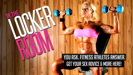 female bodybuilder Jill Jaxen sex advice column
