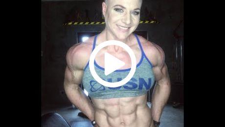 Shredded Female Muscle on Instagram