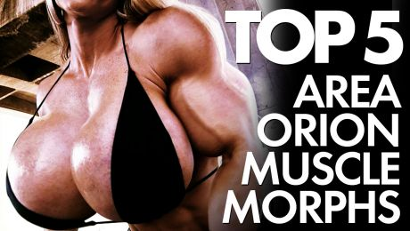 Top 5 Muscle Girls With Huge Tits Morphs