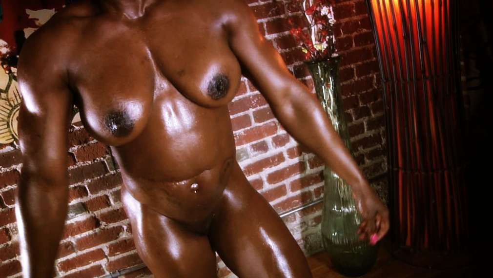ashley starr - Ashley Starr oiled up workout video. ...