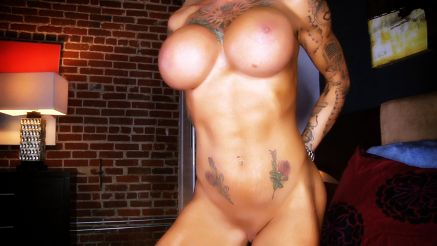 naked tattooed fitness model duchess dani