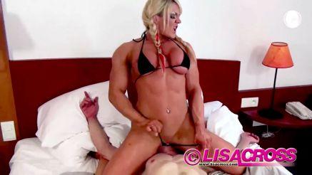 female bodybuilder femdom facesitting mixed wrestling