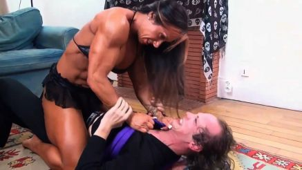 fbb monica martin fighting a guy to the ground