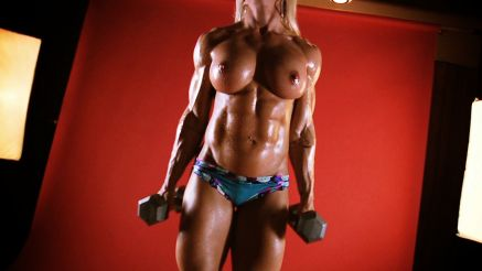 fbb jill jaxen topless workout