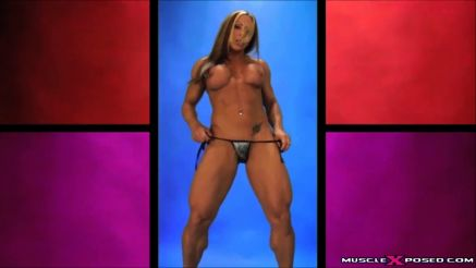 nude strip tease female bodybuilder monica martin